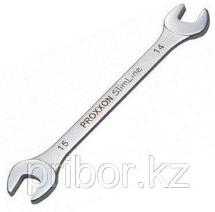 23840 Proxxon Ключ рожковый 14 х 15 мм
