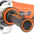Машина углошлифовальная (УШМ) Patriot AG 125, фото 9