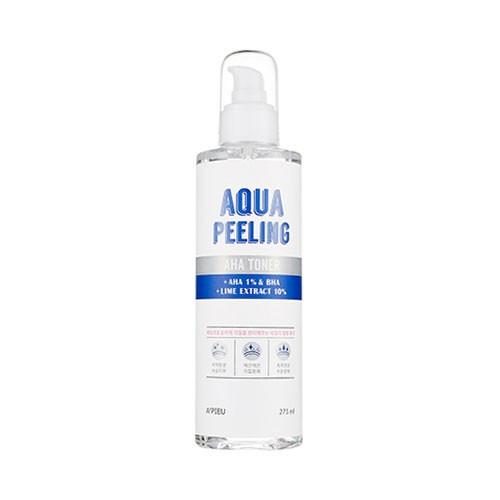 Пилинг-тоник для лица с AHA-кислотами и лаймом A'Pieu Aqua Peeling Aha Toner