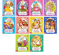 Сказки зарубежные для детей, набор, 10 шт…., фото 1