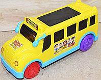 303 Школьный автобус желтый в пакете 23*15см