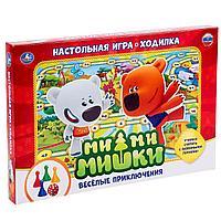 Настольная игра-ходилка «Ми-Ми-Мишки. Веселые приключения», фото 1