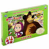 Настольная игра-ходилка «Маша и Медведь, Азбука», фото 1