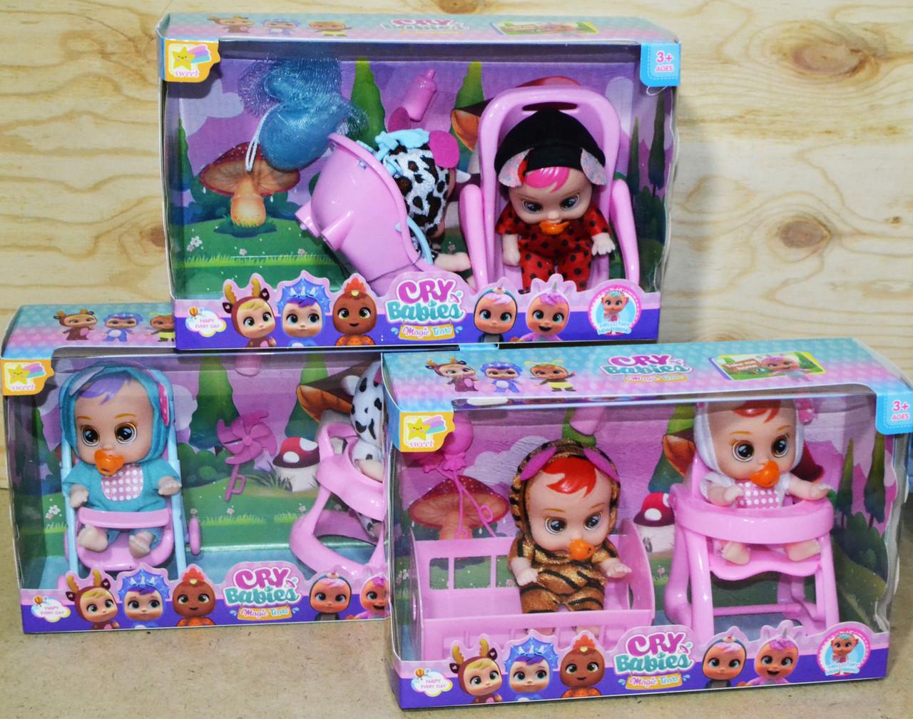 D17-120 Кукла 2в1 Малышка 3 вида цена за 1шт 17*18см