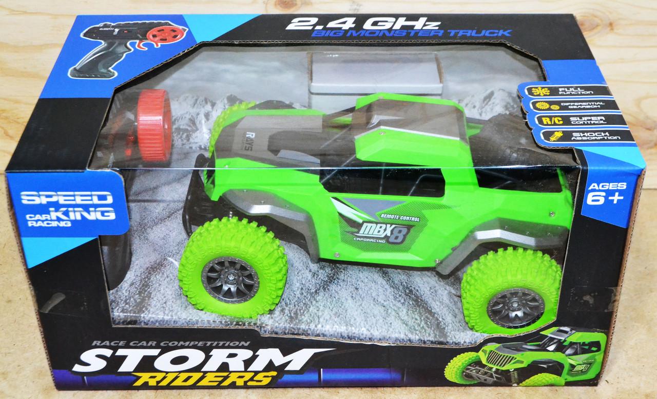 9040-1F Storm Riders машина на р/у Big monster Truck 31*15см