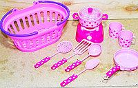 117 Dream посуда в корзинке 24*10см