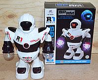 58659 Robot Space Police (музыка,свет,движение) 20*25см, фото 1