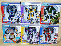 525 Трансформер Robot minitractor разные виды 18*16см