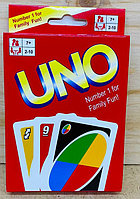 01 Настольная игра карточки UNO 14*10см