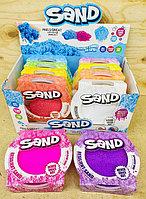 GL25179 Кинетический песок Sand 10цветов , цена за 1шт 14*14см