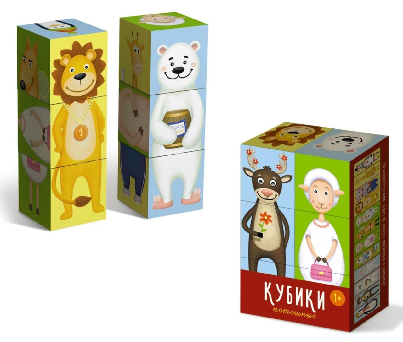 Кубики «Потешные»