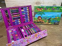 20068 Набор юного художника 68 предметов разные виды 30*20см