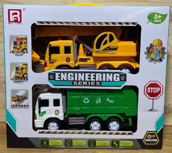 G1602-1 Строительная техника 2 в 1 Engineering Series 36*33