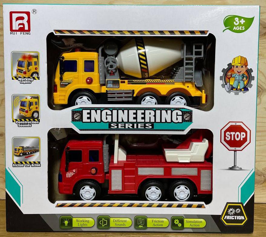 G1604-1 Строительная техника 2 в 1 Engineering Series 37*33