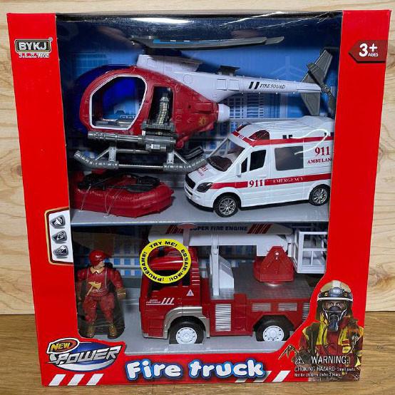 9931B Пожарная спасательная техника Fire Truсk 37*33