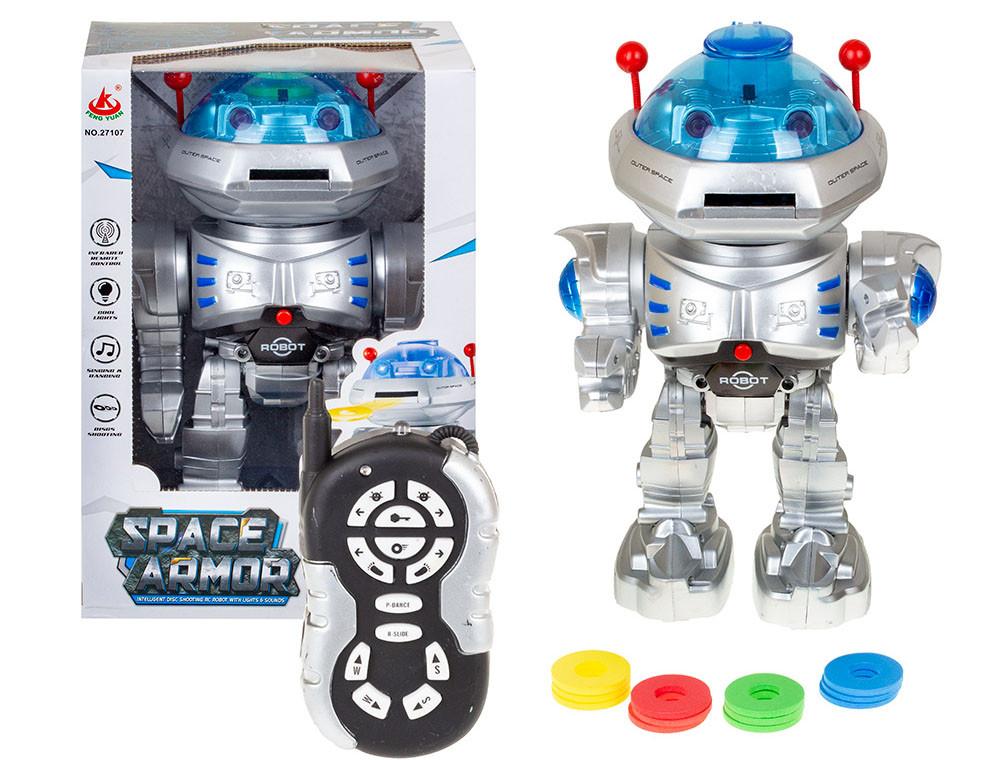 27107 Робот Space Armor свет/звук/ходит 32*22