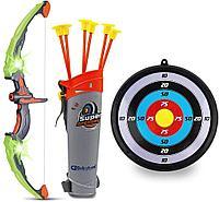 881-24A Лук Archery Set с мишенью 62*24, фото 1