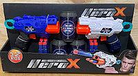 JLX 7215 Два бластера с баночками Hero X 42*22
