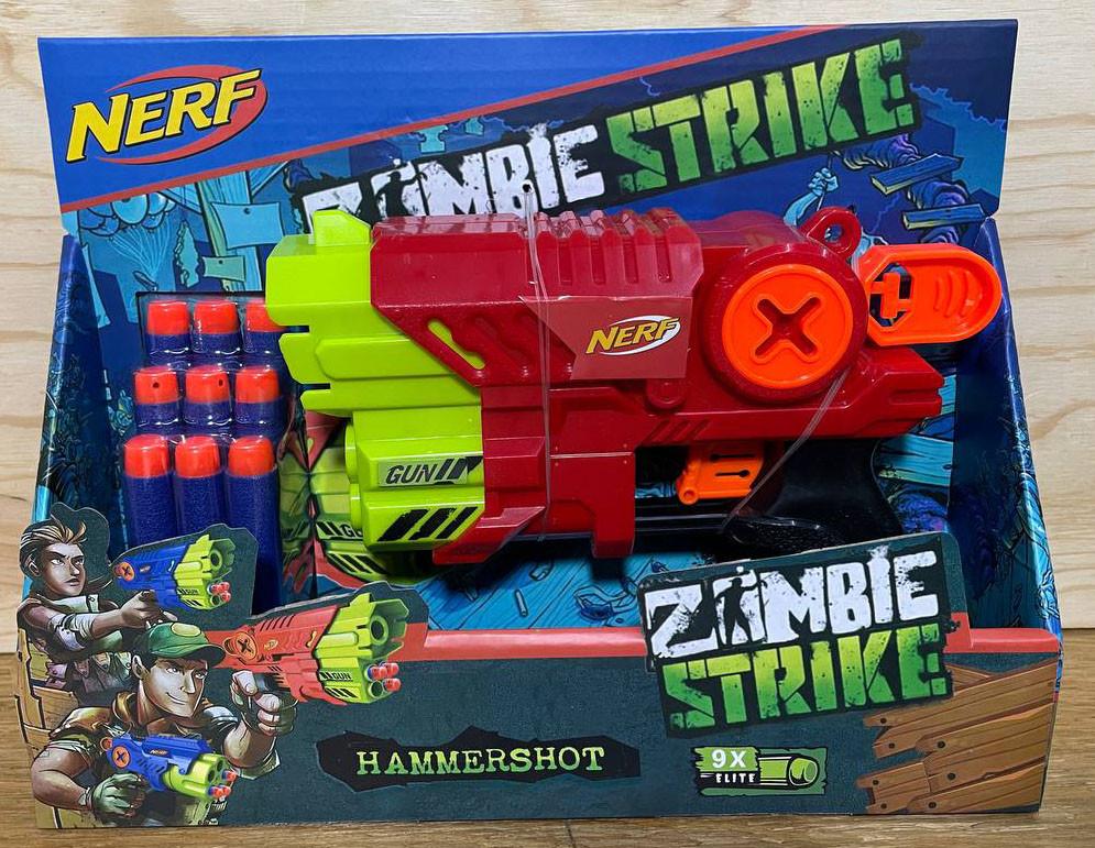 JBY-028 Nerv Zoombie Strike Пистолет + 9 патронов 25*19см