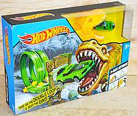 QQ8836 Трек мертвая петля с Динозавр + 1 машинка 26*37см