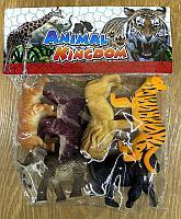 9618-25 Дикие животные 6шт в пакете Animal kingdom 25*21см
