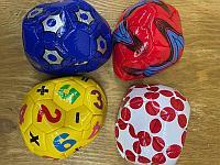 2021-6 мячик футбол малый разные виды 15*15см