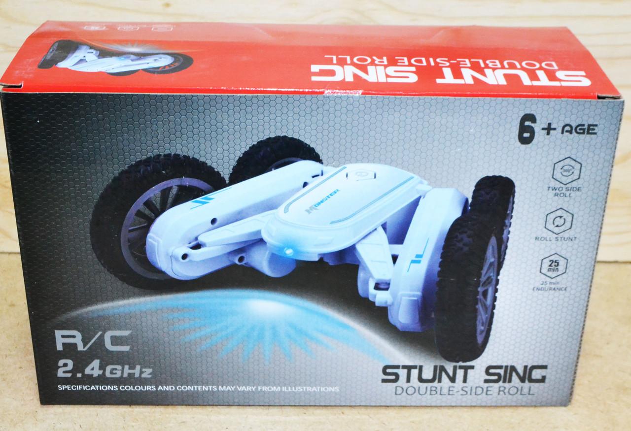 KN730 Перевертыш машина на р/у Stunt sing Double 26*17см
