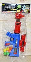 898 Пинг понг M416 пистолет с шариками в пакете 47*25