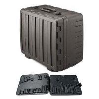 Jensen 377-051 - чемодан из высокопрочного полиэтилена с паллетой - книжкой (для набора SK-51)