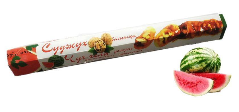 Чурчхела с грецким орехом и арбузом 150 гр СУДЖУХ (16 шт в упаковке)
