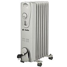 Масляный радиатор Дельта D25-7, 7 секций, 1.5 кВт