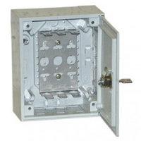 KRONE 6436 1 001-21 корпус пустой KRONECTION-Box I, с дверью с замком, имеющим цилиндровый механизм