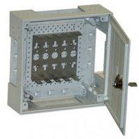 KRONE 6406 1 001-20 корпус пустой KRONECTION-Box II, с дверью с поворотной задвижкой