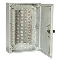 KRONE 6437 1 020-21 корпус KRONECTION-Box III, 100 пар, с монтажным хомутом, с дверью с замком, имеющим