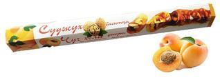 Чурчхела с грецким орехом и абрикосом 150 гр СУДЖУХ (16 шт в упаковке)