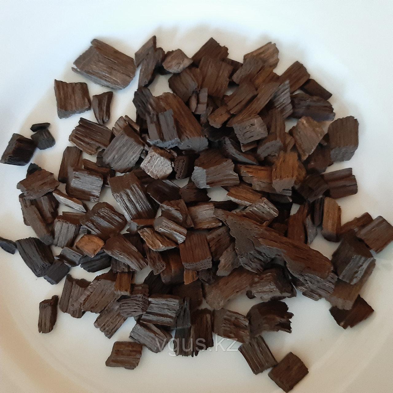 Дубовая щепа кавказкого дуба средний обжиг 100гр.