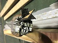 10*18 мм, матовое золото - Профиль Т-образный для декорирования мебели, 305 см
