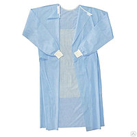 Хирургический одноразовый халат M Длинна 116 см стерильный (МАНЖЕТА) 40 гр/м2