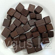 Дубовые кубики кавказского дуба сильный обжиг 100гр.