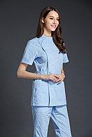 Женский голубой медицинский комплект