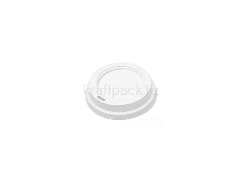 Крышка D73мм для бумажного стакана 165мл - белая (100/1000)