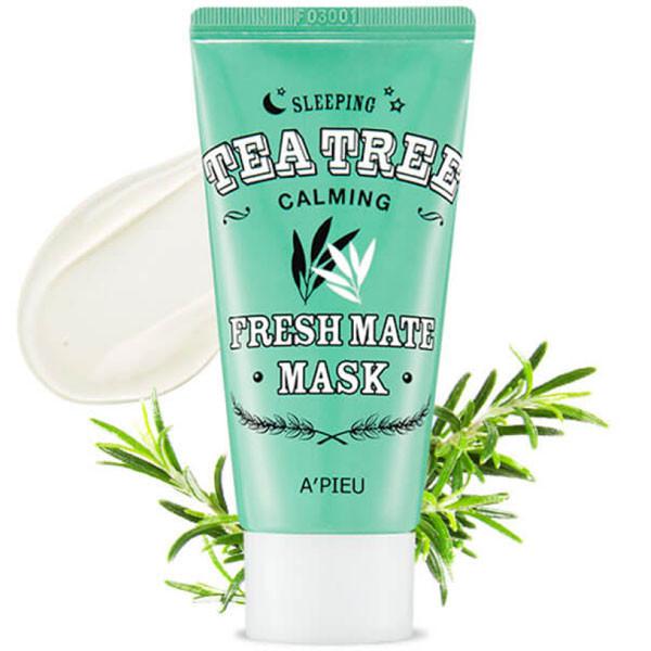 Ночная противовоспалительная маска с чайным деревом A'Pieu Fresh Mate Tea Tree Mask