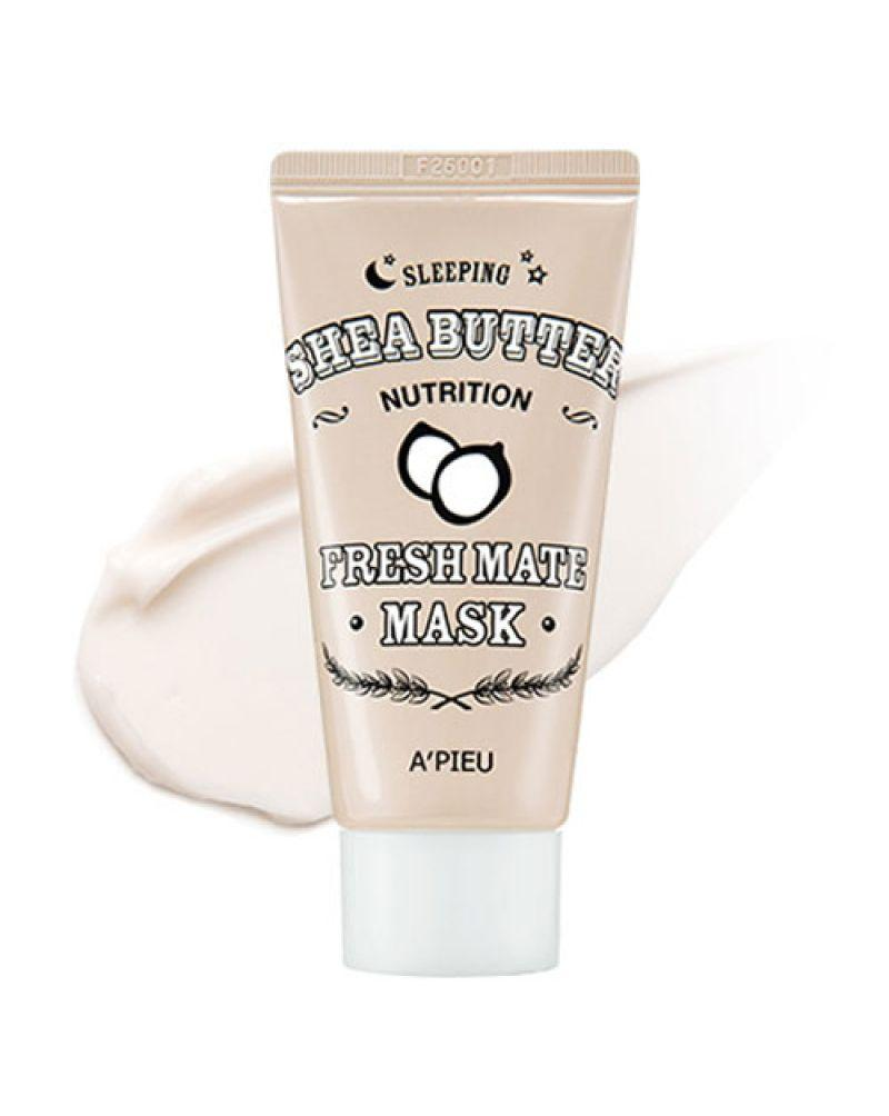 Ночная питательная маска с маслом ши Apieu Fresh Mate Shea Butter Mask