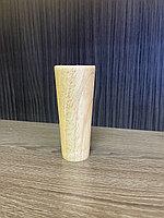 Ножка мебельная, деревянная, конус 11,5 см
