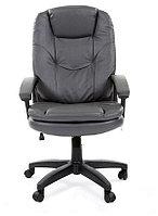 Офисное кресло Chairman 668 LT Россия экопремиум серый