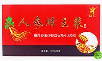 Ren Shen Feng Wang Jiang Пчелиное Молочко с Женьшенем 120 мл