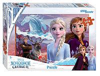 """Мозаика """"puzzle"""" 104 """"Холодное сердце - 2"""" (Disney)"""