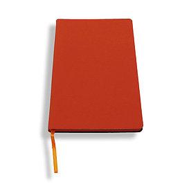 Блокнот A5 Lux Touch, оранжевый
