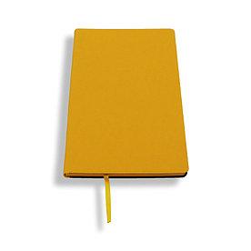 Блокнот A5 Lux Touch, желтый