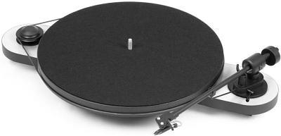 Проигрыватель виниловых пластинок Pro-Ject Elemental OM 5E, черно-серебирстый
